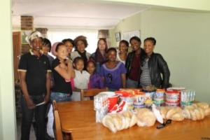 Edcon treat the kids to KFC and party packs for Mandela Day