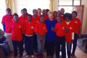 Workmaster in Kempton Park donate uniforms to St George's Home