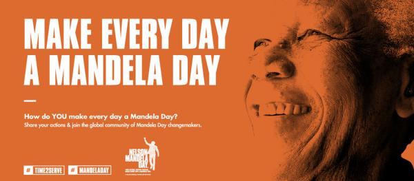 make everyday a mandela day